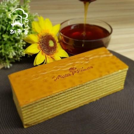 花蓮野生蜂蜜千層蛋糕
